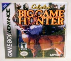 Cabala's Big Game Hunter GBA Custom Replacement CASE (*NO GAME*) - $5.66