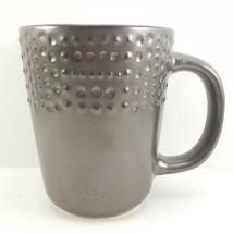 Mikasa Metropolitan Mug Metallic Brown Stoneware 13 oz Gourmet Basics - $12.64