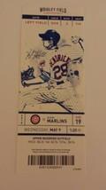 Kris Bryant 100th Cubs Career Home Run HR Wrigley Field Full Ticket Stub... - $19.99
