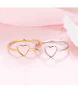 [Jewelry] Best Friend Heart Ring for Birthday Gift - Not Fade Color - $227,33 MXN