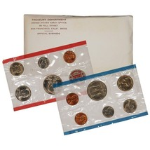 1971 P & D US Mint Set United States Original Government Packaging Box C... - $9.49