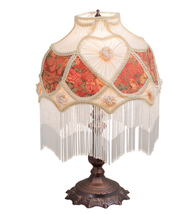 "20"" High Heart W/Fringe Table Lamp - $300.00"