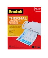 Scotch Thermal Laminating Pouches, 100-Pack, 8.9 x 11.4 inches,Letter Size Sheet - $22.94