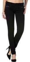 Rock Revival Women's Premium Skinny Black Denim Jeans Woven Pants Noelle S54