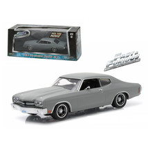 Dom's 1970 Chevrolet Chevelle SS Fast and Furious Movie (2009) 1/43 Diec... - $31.32