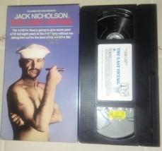 THE LAST DETAIL VHS ORIGINAL RELEASE JACK NICHOLSON  - $8.88