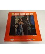 James Bond From Russia With Love Soundtrack ORIGINAL Vinyl LP Record Alb... - $23.15