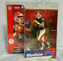 2003 Buffalo Bills Drew Bledsoe NFL Series 6 Mcfarlane Figure  - $11.30