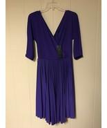 "BCBGMaxazria Women ""Cruz"" Dress Persian Blue Size US S  - $41.00"