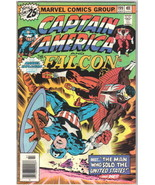 Captain America Comic Book #199 Marvel Comics 1976 FINE+ - $7.84