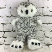"""Build A Bear 15"""" Plush Hedwig The Spotted Snow Owl With Rotating Head St... - $19.79"""