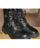 Harley Davidson Women's  LACE-UP RIDING BOOTS  84348   Size 8.5  NIB  Fl... - $139.99