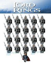 21Pcs Aragorn Leader Gondor Armor Spear Pikeman Lord Of The Rings Minifi... - $29.99