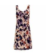NWT CAbi Radiant velvet burnout dress purple orange size M sample $139 - $72.00