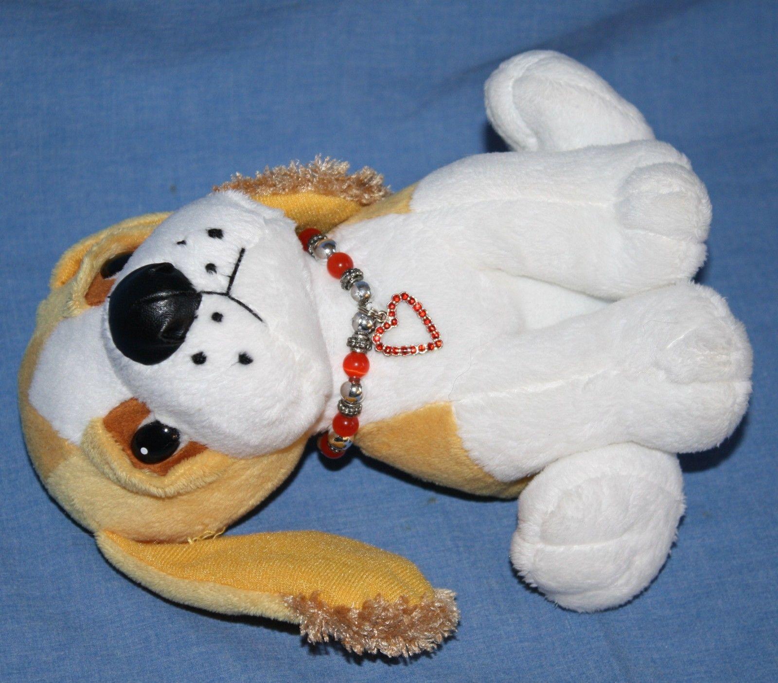 Valentine Bracelets Justin Toys : Fiesta dog quot valentine heart charm bracelet collar tan