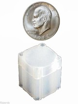 Large Dollar  Square Coin Tube Storage, Numis Brand 38mm - 50 pack - $49.95