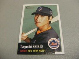 2002 Topps Heritage #432 Tsuyoshi Shinjo SP Short Print New York Mets - $3.12