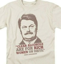 Ron Swanson T-shirt Parks & Recreation Political comedy TV graphic tee NBC932 image 2