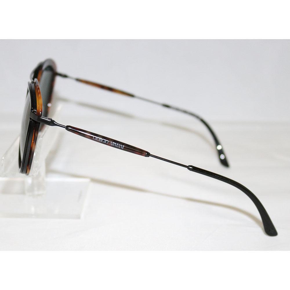 354975a016b New Giorgio Armani Sunglasses AR6054 3001 71 Black Havana Frames Green Lens  51MM