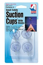 "Adams Manufacturing 7500-77-3040 1 1/8"" Suction Cups, Small, 4 Pack"