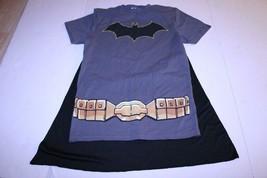 Women's Batman S Costume w/Cape T-Shirt Tee DC Comics - $14.01