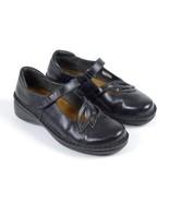 NAOT ISRAEL Black Leather Mary Jane Occupational Nursing Clogs Shoes EU ... - $44.54