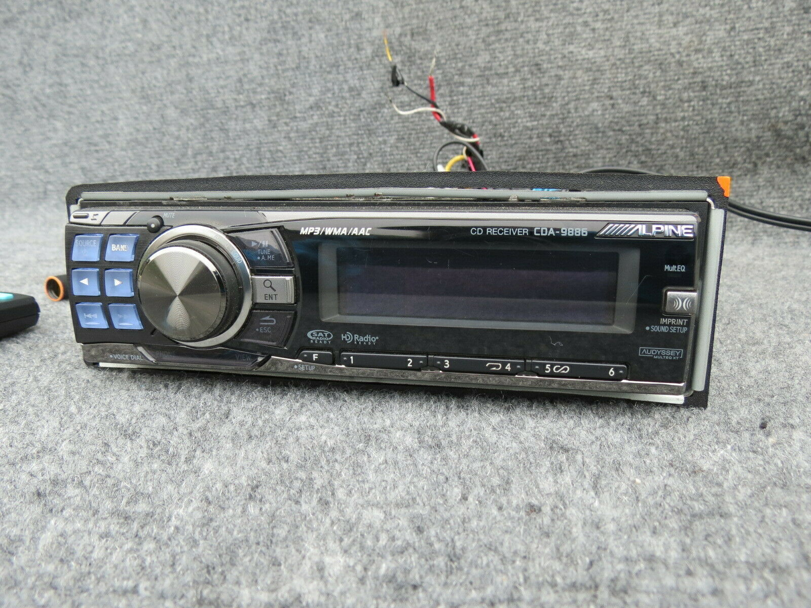 ALPINE CDA-9886 RADIO CD MP3/WMA/AAC SAT HD READY image 3