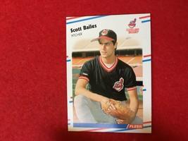 Baseball Trading Card Fleer 1988 #600 Scott Bailes (SS63) - $4.17