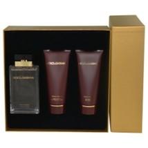 Dolce and Gabbana Pour Femme Eau De Parfum Spray 3.3 Oz and Body Lotion ... - $119.96