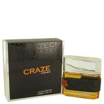 Armaf Craze by Armaf 3.4 oz 100 ml EDP Spray for Men New in Box - $32.25