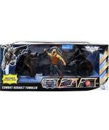 Mattel Batman Dark Knight Exclusive Action Figure Vehicle Combat Assault... - $72.77