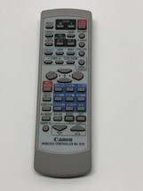 CANON WL-D78 Camcorder Remote Control OEM Replacement for Optura 200 - $14.80
