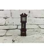 Vintage Fisher Price Dollhouse Furniture Grandfather Clock - $24.74