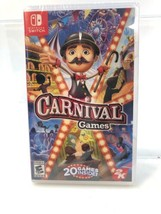 Carnival Games NEW 2K Nintendo Switch Entertainment Family Game - $22.77