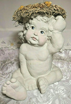 1991 RARE DREAMSICLES Cherub Signed Kristin Cast Art Figurine Ltd. 6,277/10,000