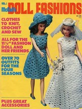 """McCall's Doll Fashions Vol 1 Crochet Knit Sew Pattern Booklet for 11.5"""" ... - $7.17"""