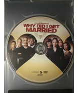 Tyler Perry's Why Did I Get Married DVD - $4.95