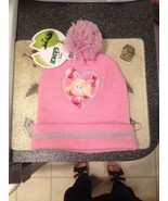 Little Cindy Lou Hoo How The Grinch Stole Christmas Pink Pom Pom Hat Bra... - $14.99