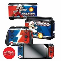 Controller Gear Nintendo Switch Skin & Screen Protector Set - Super Mari... - $23.95