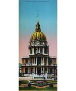 PARIS in 1900s Beautiful Chromotype Photo - Hotel des Invalides - $21.60