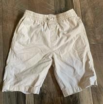Gap kids khaki shorts with tie string waist size XL Stretchy waist  - $8.95