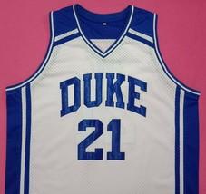Matthew Hurt Duke Blue Devils White College Jersey Any Size Free Wwjd Bracelet - $29.99