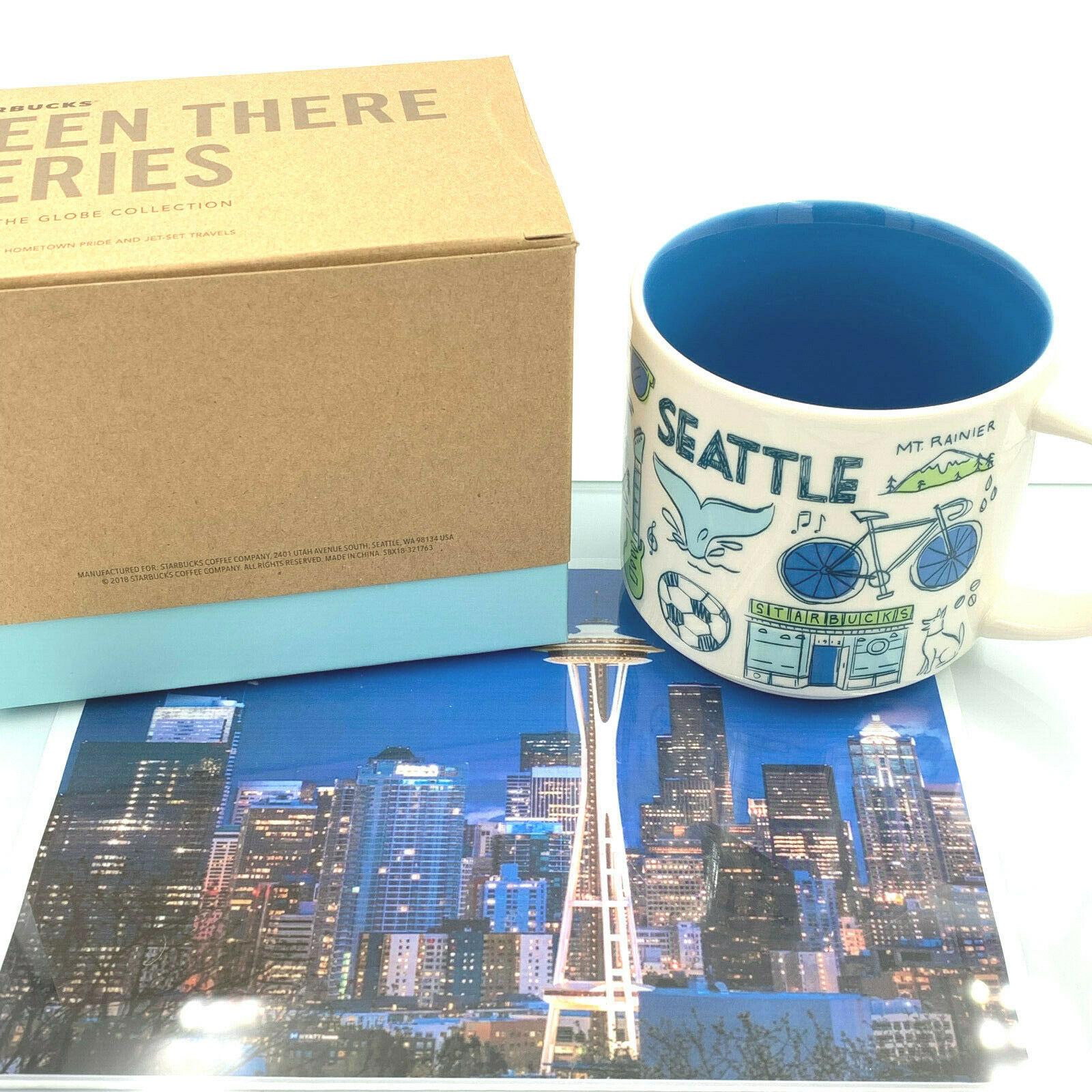 Starbucks Coffee Ceramic Mug Cup USA World Collection Coffee Tea Hot 14 oz Gift