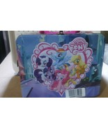MY LITTLE PONY EMBOSSED TIN LUNCHBOX WITH 48 PIECE PUZZLE 2013, 3+, Hasbro - $14.99