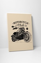 "Motorcycle Club Pop Art Gallery Wrapped Canvas Print. 30""x20 or 20""x16"" - $42.52+"