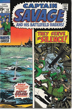 Capt. Savage and His Leatherneck Raiders Comic Book #19 Marvel 1970 VERY GOOD+ - $7.38