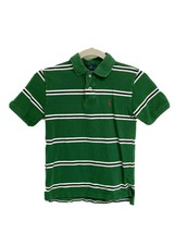 Polo By Ralph Lauren youth boys polo shirt short sleeve striped green si... - $13.85