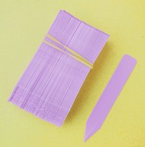 """300 Lavender Plastic Plant Stakes Labels Nursery Tags Made in USA - 4"""" X 5/8"""" - $29.70"""