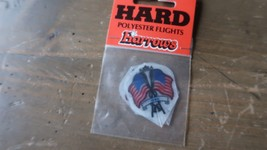 3 NEW Vintage Dart Flights USA HARROWS - $2.96