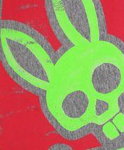 Men's Psycho Bunny Heather Grey Short Sleeve Tee Logo Graphic Shirt T-Shirt image 3